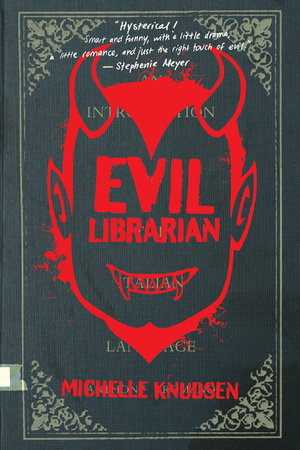 The cover of the book Evil Librarian