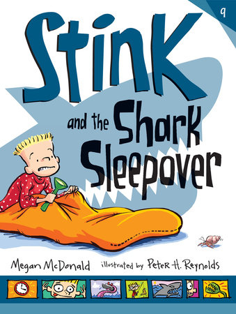 Stink and the Shark Sleepover by Megan McDonald