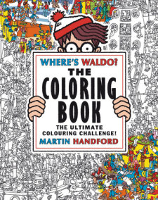 Where's Waldo? The Coloring Book