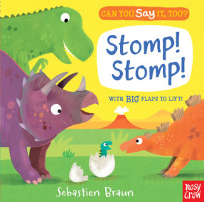 Can You Say It, Too? Stomp! Stomp!
