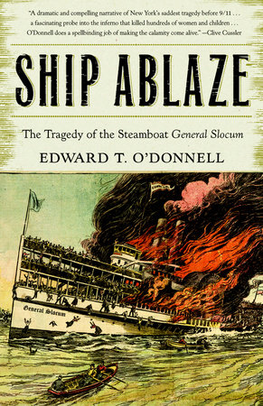 Ship Ablaze by Ed O'Donnell