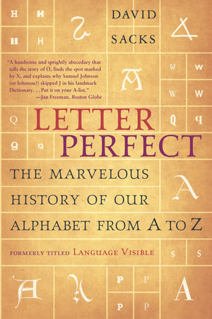 Letter Perfect by David Sacks