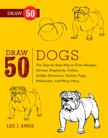 Draw 50 Dogs by Lee J. Ames