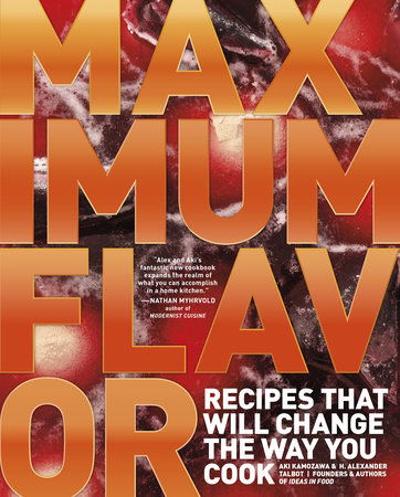 Maximum Flavor by Aki Kamozawa and H. Alexander Talbot