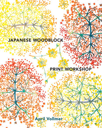Japanese Woodblock Print Workshop by April Vollmer