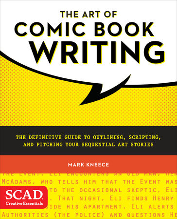 The Art of Comic Book Writing Book Cover Picture