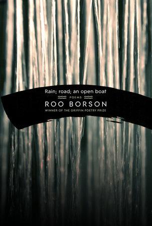 Rain; road; an open boat