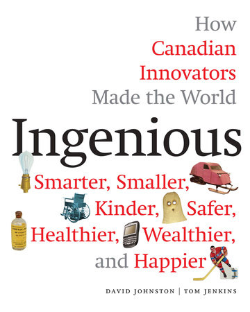 Ingenious by David Johnston and Tom Jenkins