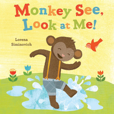 Monkey See, Look at Me! by Lorena Siminovich