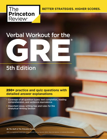 Verbal Workout for the GRE, 5th Edition by Princeton Review