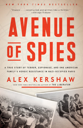 The cover of the book Avenue of Spies