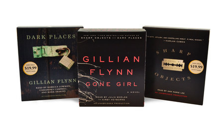 Gillian Flynn CD Audiobook Bundle by Gillian Flynn