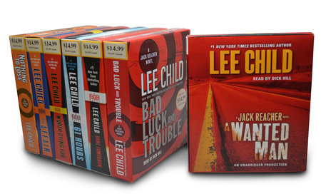 Lee Child CD Audiobook Bundle