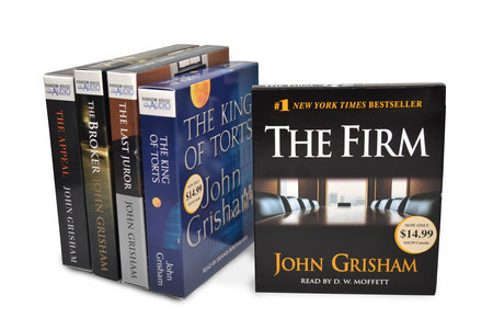 John Grisham CD Audiobook Bundle #1 by John Grisham