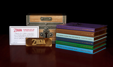 The Legend of Zelda Boxed Set by David Hodgson