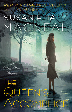 The cover of the book The Queen's Accomplice