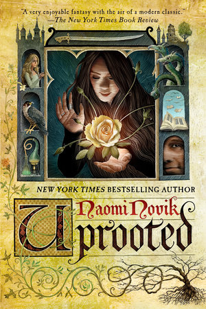 The cover of the book Uprooted