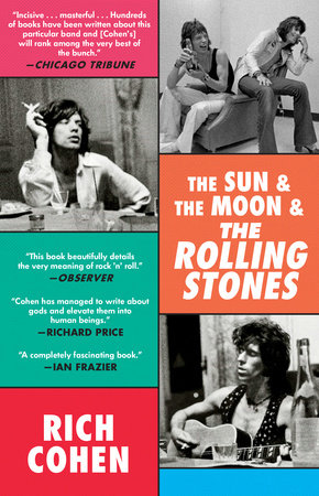 The Sun & The Moon & The Rolling Stones Book Cover Picture