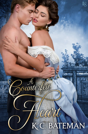 The cover of the book A Counterfeit Heart