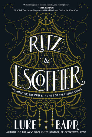 The cover of the book Ritz and Escoffier