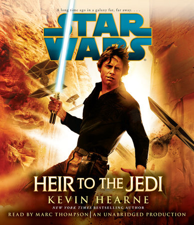 Heir to the Jedi: Star Wars Book Cover Picture