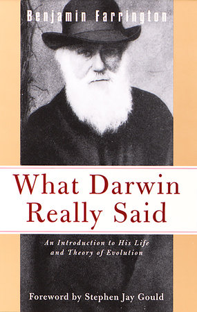 What Darwin Really Said by Benjamin Farrington