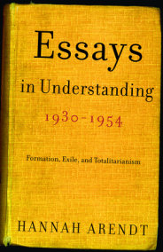 Essays in Understanding, 1930-1954