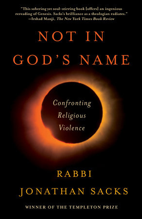 Not in God's Name by Jonathan Sacks