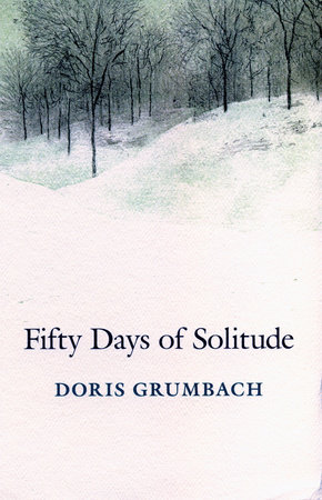 The cover of the book Fifty Days of Solitude