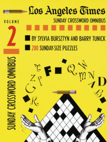 Los Angeles Times Sunday Crossword Omnibus, Volume 2