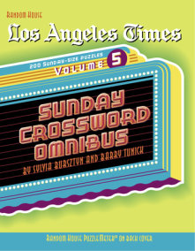 Los Angeles Times Sunday Crossword Omnibus, Volume 5