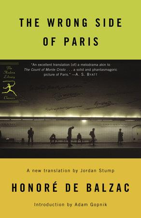 The Wrong Side of Paris by Honore De Balzac