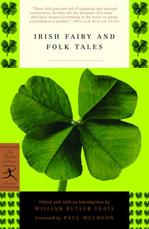 The cover of the book Irish Fairy and Folk Tales
