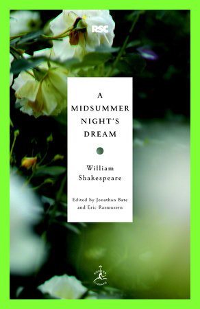 A Midsummer Night's Dream Book Cover Picture