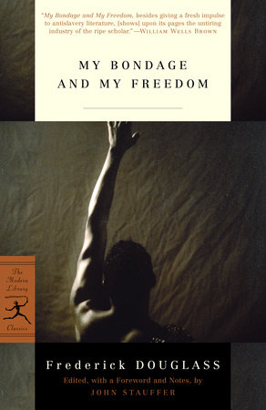 The cover of the book My Bondage and My Freedom