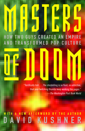 The cover of the book Masters of Doom