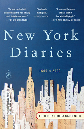 New York Diaries: 1609 to 2009 by