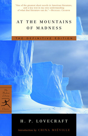 The cover of the book At the Mountains of Madness