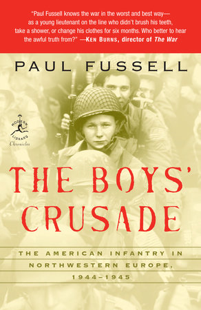 The Boys' Crusade by Paul Fussell