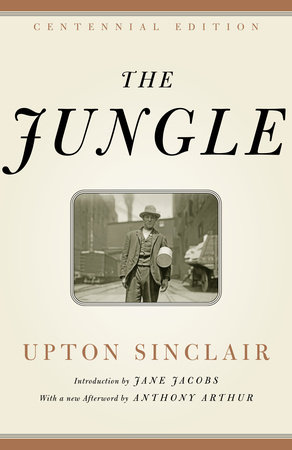 The cover of the book The Jungle
