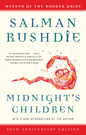 MIDNIGHT'S CHILDREN Book Cover Picture