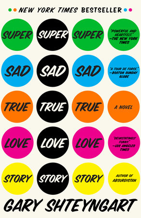 The cover of the book Super Sad True Love Story