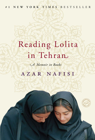 The cover of the book Reading Lolita in Tehran