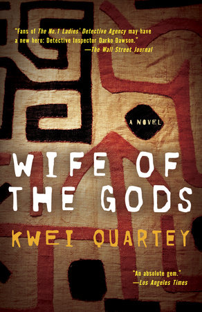 The cover of the book Wife of the Gods