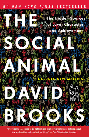 The cover of the book The Social Animal