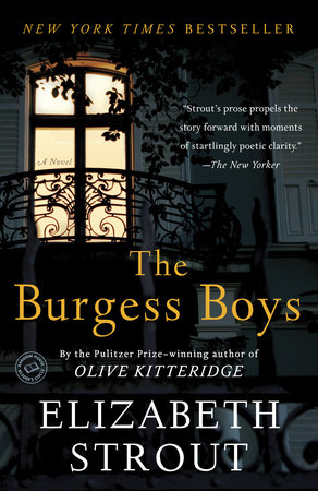 The cover of the book The Burgess Boys