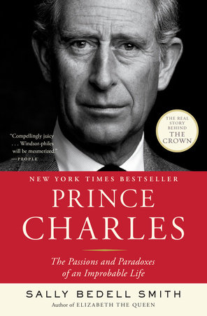 The cover of the book Prince Charles