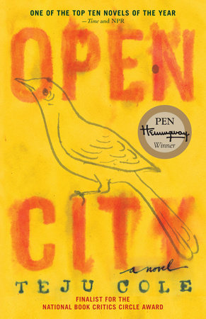 The cover of the book Open City