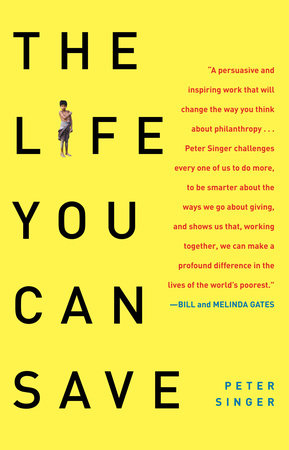 The cover of the book The Life You Can Save