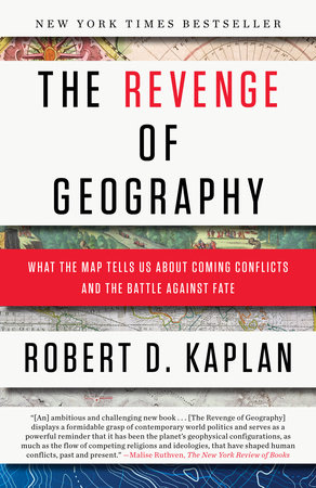 The cover of the book The Revenge of Geography